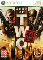 Jaquette Army of Two : Le 40ème Jour