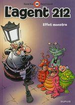 Couverture Effet monstre - L'agent 212, tome 28
