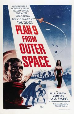 Affiche Plan 9 from Outer Space