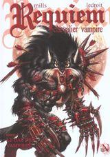 Couverture Le Bal des vampires - Requiem, chevalier vampire, tome 4