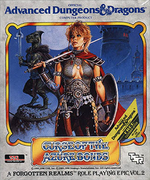 Jaquette Advanced Dungeons & Dragons : Curse of the Azure Bonds