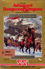 Jaquette Advanced Dungeons & Dragons : Secret of the Silver Blades