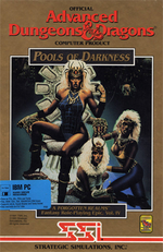 Jaquette Advanced Dungeons & Dragons : Pool of Darkness