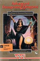Jaquette Advanced Dungeons & Dragons : Gateway to the Savage Frontier