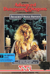 Jaquette Advanced Dungeons & Dragons : Treasures of the Savage Frontier