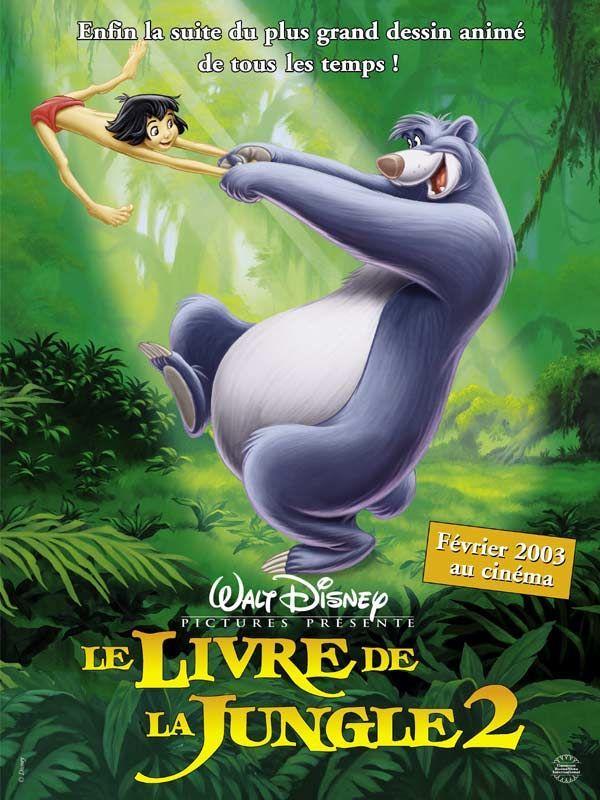 Le livre de la jungle 2 long m trage d 39 animation 2003 - Gwenvin sommier ...