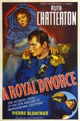 Affiche A royal divorce