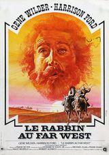 Affiche Un rabbin au Far West