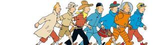 Cover Top albums de Tintin