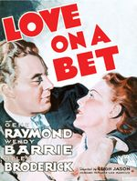 Affiche Love on a Bet