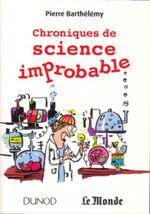 Couverture Chroniques de science improbable