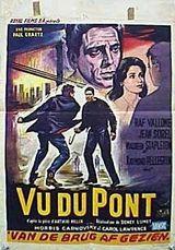 Affiche Vu du pont