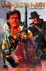 Couverture Freddy vs. Jason vs. Ash: The Nightmare Warriors