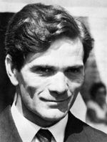 Photo Pier Paolo Pasolini