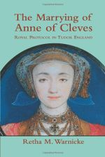 Couverture The Marrying of Anne of Cleves