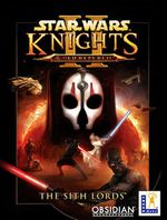 Jaquette Star Wars : Knights of the Old Republic II - The Sith Lords