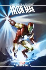 Couverture Iron Man : Season One