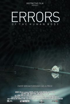 Affiche Errors of the Human Body