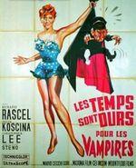Affiche Les temps sont durs pour les vampires