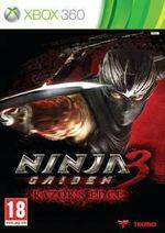 Jaquette Ninja Gaiden 3 : Razor's Edge