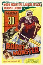 Affiche Robot Monster