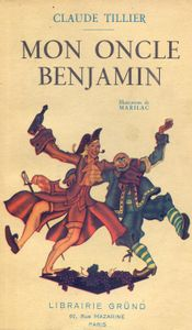 Couverture Mon oncle Benjamin