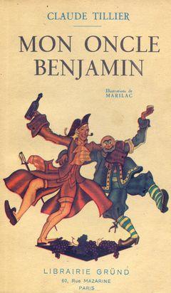 Couverture Mon oncle Benjamin