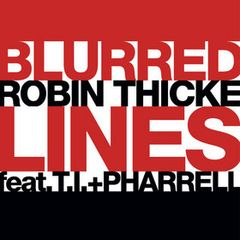 Pochette Blurred Lines (feat. T.I. & Pharrell)