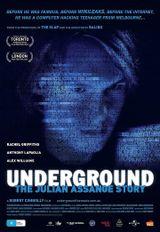Affiche Underground The Julian Assange Story