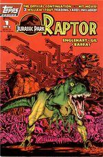 Couverture Jurassic Park : Raptor
