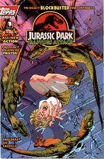 Couverture Jurassic Park : Raptors Attack