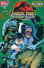 Couverture Jurassic Park : Raptors Hijack