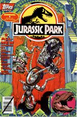 Couverture Jurassic Park Annual #1