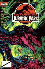 Couverture Return to Jurassic Park