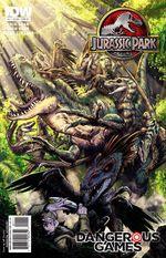Couverture Jurassic Park : Dangerous Games