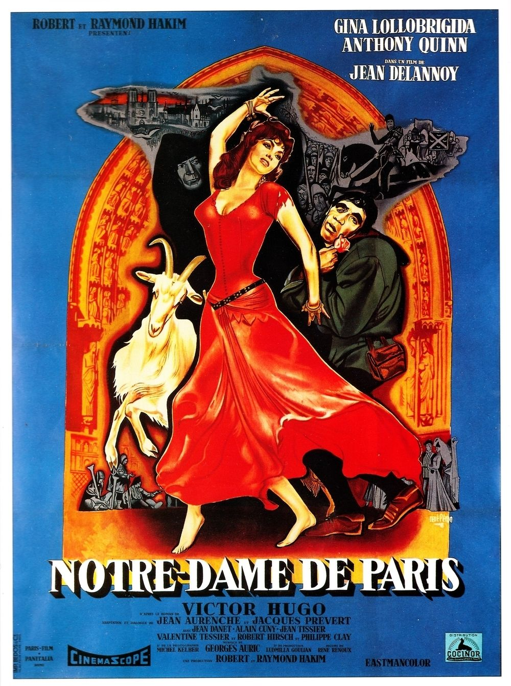 film notre dame de paris 1956