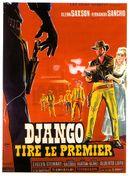 Affiche Django tire le premier