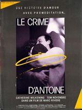 Affiche Le Crime d'Antoine