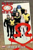 Couverture Un Vent de Révolte - New X-Men, tome 3