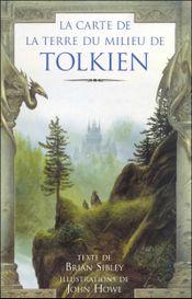 Couverture La Carte de la Terre du Milieu de Tolkien