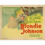 Affiche Blondie Johnson