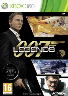 Jaquette 007 Legends