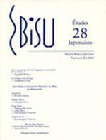 Couverture Ebisu-Etudes Japonaises Numéro 28