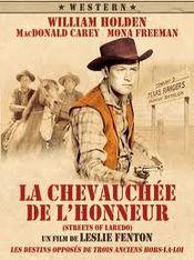 Affiche La Chevauchée de l'honneur