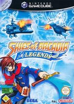 Jaquette Skies of Arcadia Legends