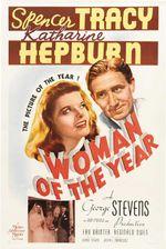Affiche La Femme de l'année
