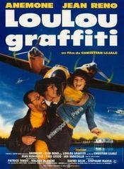 Affiche Loulou Graffiti