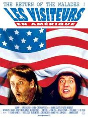 Affiche Les Visiteurs en Amérique