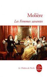 Couverture Les Femmes savantes