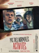 Affiche Pas très normales activités